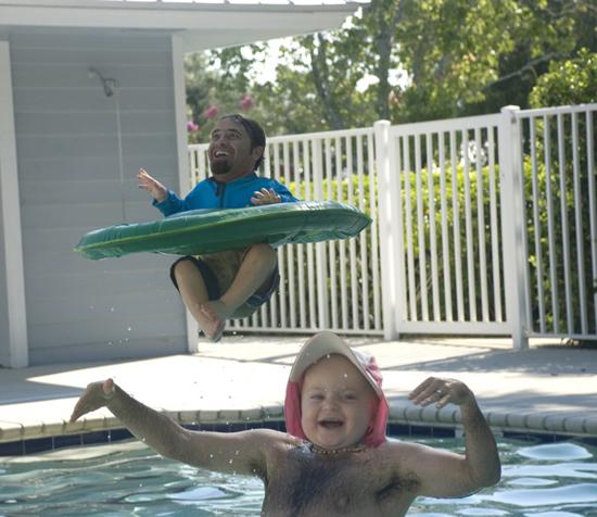 ManBabies Pool Time
