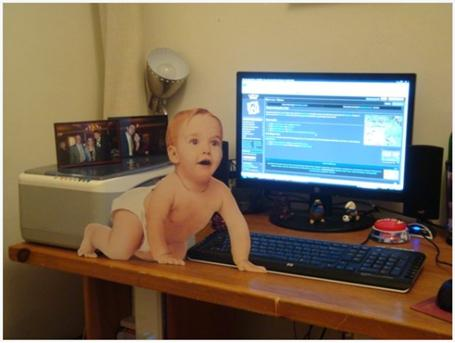 Instant Infant already comes Web-savvy!
