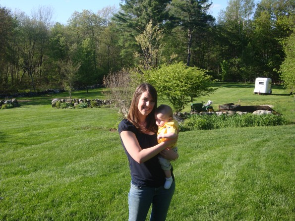 Me and my boy on our first Mothers Day.
