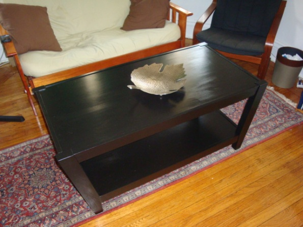 "Our ""new"" coffee table"
