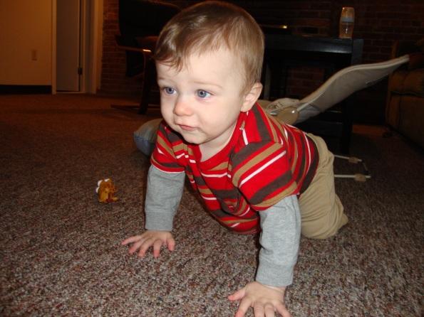 Official Crawl Pose