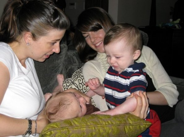 Adrienne, Gus, me & Emmett