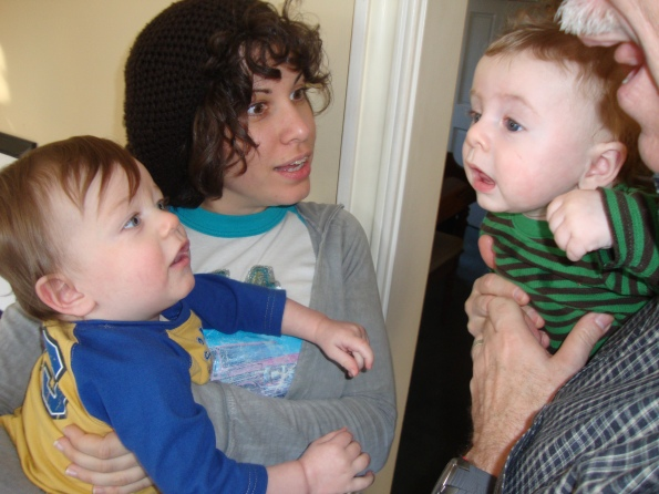 Gus tells a very engaging story to Emmett, Aunt Lulu and Gran-D
