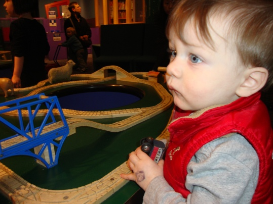 Baby and Brio Trains